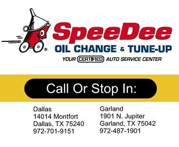 Fast Oil Changes in Garland