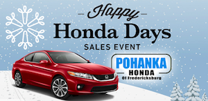 Virginia honda shoppers save big at the happy honda days for Honda dealerships in va
