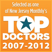 Dr. Abkin has been voted a NJ Top Doc since 2007