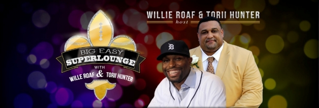 Willie Roaf and Torii Hunter host Big Easy Super Lounge