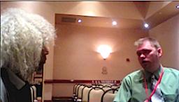 Marshall Barnes & Richard Obousy at Mars Conference 2011 copyright 2011