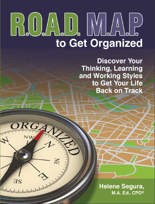 ROADMAP to Get Organized - Be successful with your New Years Resolutions
