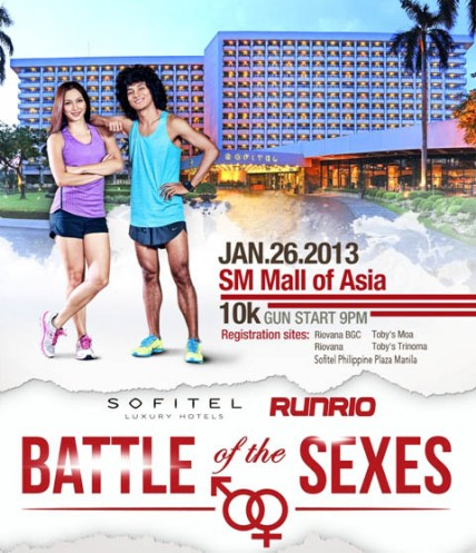 Run Rio - Battle of the Sexes Charity Fun Run