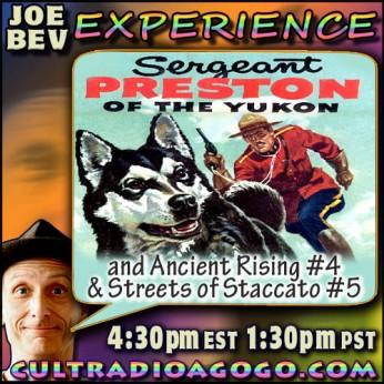 New Sgt. Preston Radio Drama Saturday January 5 4:30 pm ET on CultRadioAGoGo.com
