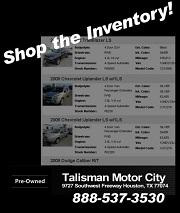 Talisman Motor City