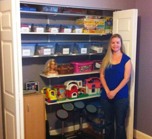 Michelle Worthington, professional organizer and owner of Worthy Spaces