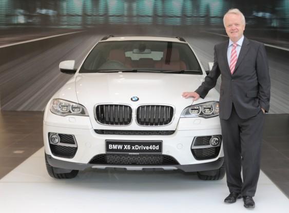 Mr. Philipp von Sahr, President, BMW Group India