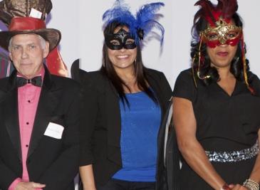 Texas Trust Employees of Year, Steve Heidel, Espy Ramos & Delana Huling don mas