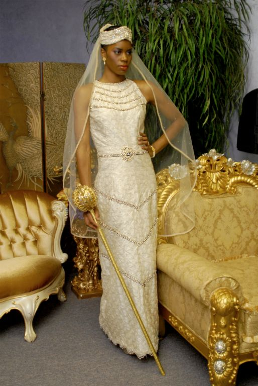 Queen Tiye of Ancient Egypt Gown