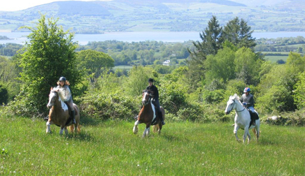 horseback riding Ireland
