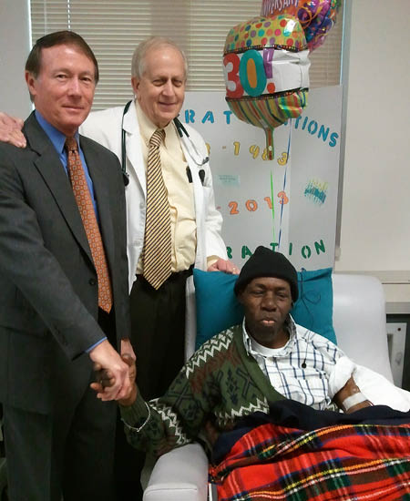 Victor Celebrates 30 Years on Dialysis