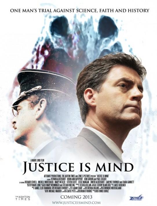Justice Is Mind official poster-prlog