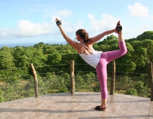 Yoga in the Galapagos