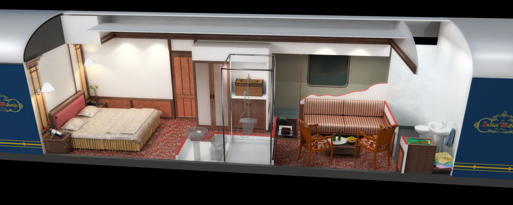Deccan Odyssey Presidential Suite
