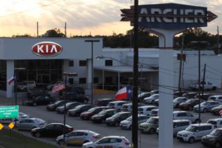Archer KIA Dealership in Houston Texas at 11614 Southwest Freeway