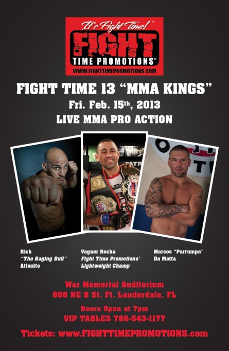 Fight Time 13 MMA Kings