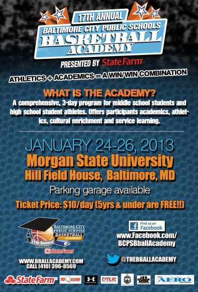 17th Annual BCPS Basketball Academy
