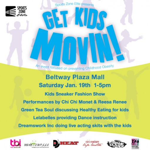 Get Kids Movin! at Sports Zone with Chi Chi Monet