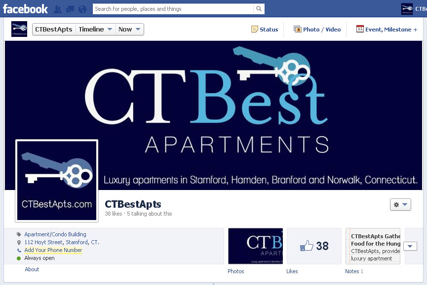 CTBestApts Facebook Page