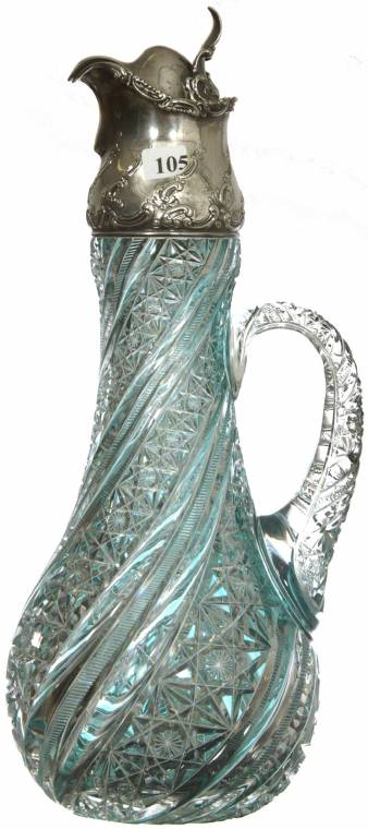 Claret jug attributed to J Hoare