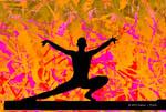 Balance Beam Silhouette   © 2013 Karen I. Hirsch