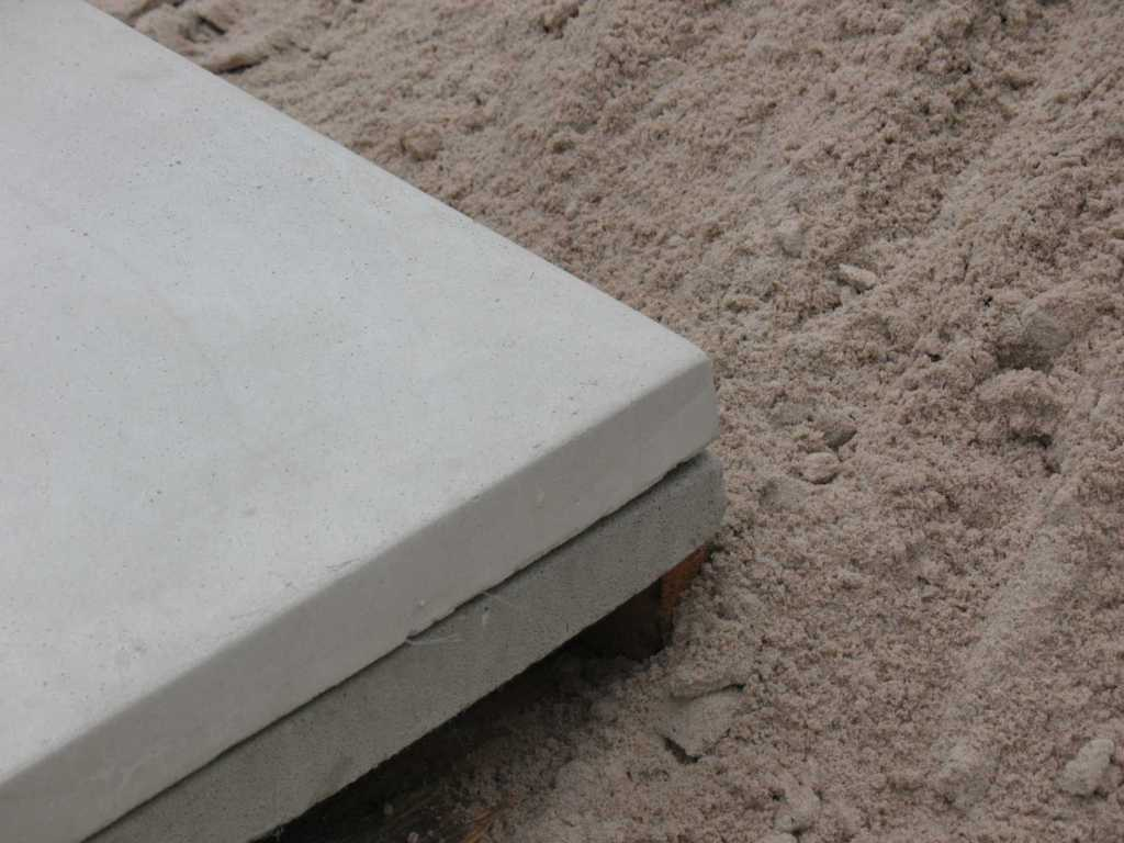New lightweight cellular concrete equipment pads cresco for Air conditioner pad concrete