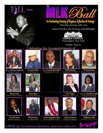 D.I.V.A. MLK Awards January 19, 2013