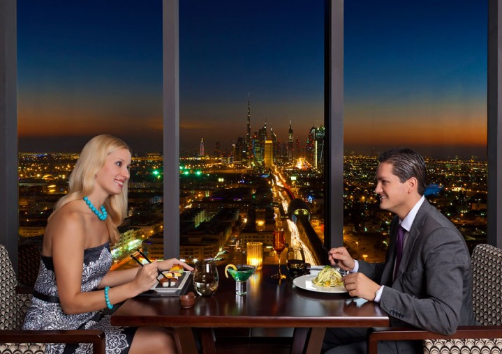 Kris restaurant at park regis kris kin hotel dubai woos for Best romantic hotels in dubai