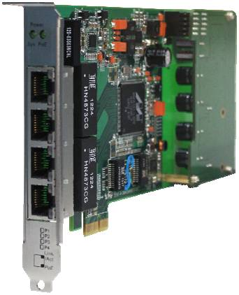 Ethernet Switch Card on The Pci Express Intelligent Gigabit Ethernet Switch Card   Prlog