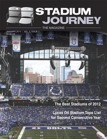 Stadium Journey Magazine Cover January 2013