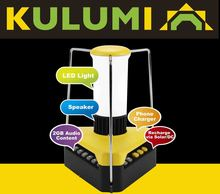 Kulumi - A portable LED Audio Lamp
