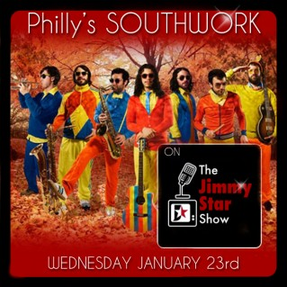 SOUTHWORK on The Jimmy Star Show Wed Jan 23rd
