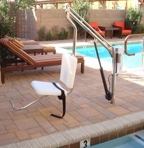 ADA compliant chair lift