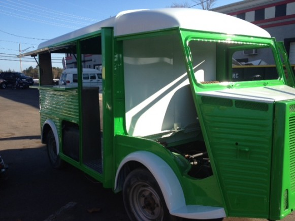Toms Auto Body >> Vintage Citroen Van To Become Modern Popsicle Stand for NYC Mobile Business -- TCR Marketing | PRLog