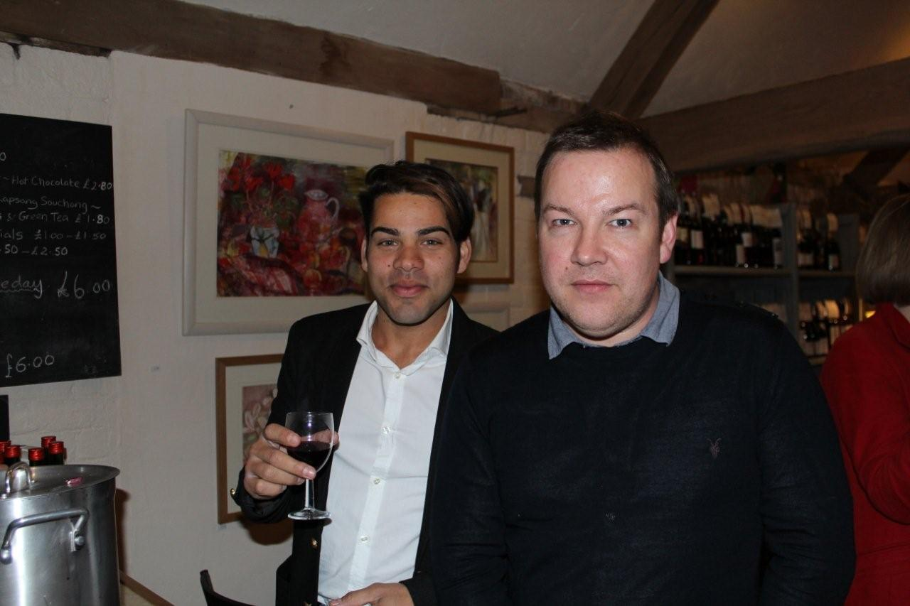 Celebrity stylists Anwar and Simon celebrate their success