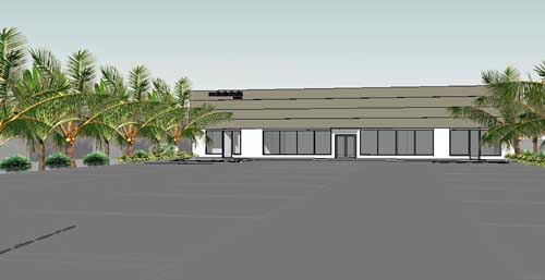Roche Bobois' North Palm Beach showroom-artist's rendering