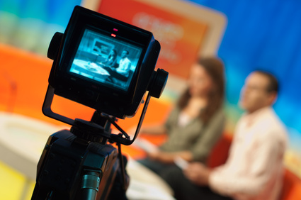 On the air and in the news, global interviews via Skype