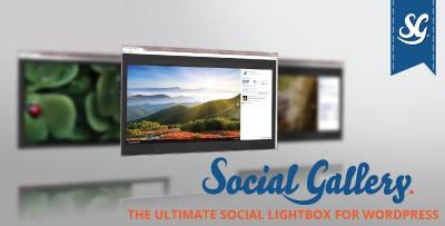 Social Gallery Lightbox Plugin for WordPress