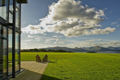 Relax in the beautiful surroundings of Loch Lomond