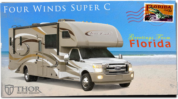 Class Super C Motorhomes (Diesel Class C RV) at 2013 Tampa RV Show in Florida