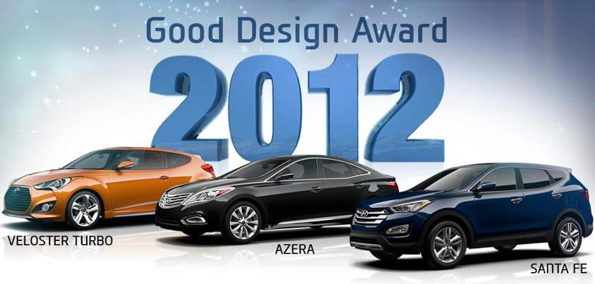Hyundai Wins the GOOD DESIGN Award