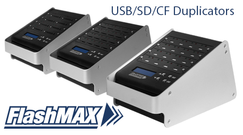 FlashMAX USB, SD, CF Duplicators are NOW AVAILABLE!