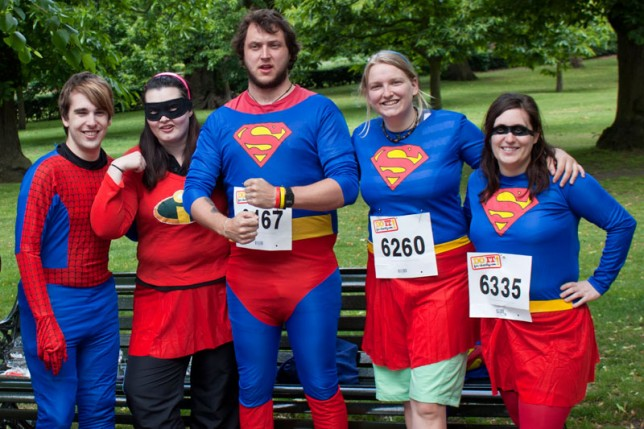 Run 4 Cancer at this year's Superhero Run