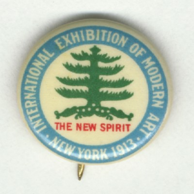 International Exhibition of Modern Art Button, 1913, Archives of American Art