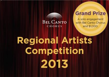 Bel Canto Regional Artists Competition 2013