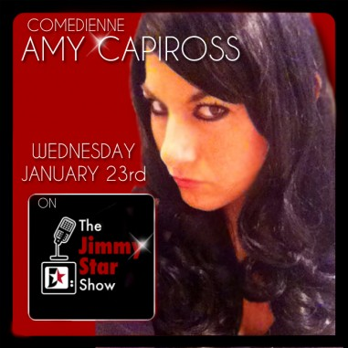 Comedian Amy Capiross on The Jimmy Star Show