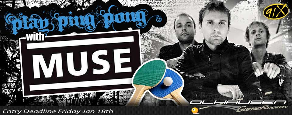 91X - MUSE ping pong
