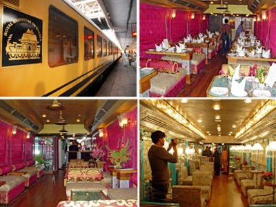 Royal Rajasthan on Wheels - Luxury Train Travel in India