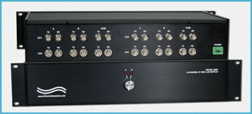 Model 8036 E1 TX/RX BNC 4-Channel Switch