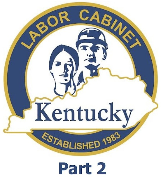 Top 10 Violations Investigated By The Kentucky Labor Cabinet Part 2